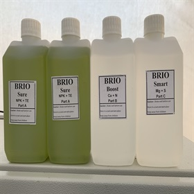 Image of Brio Nutrients NPK 500ml (4 Bottles each 500ml)